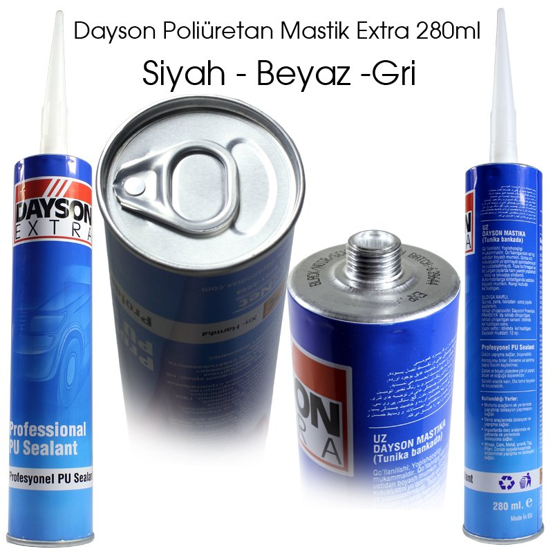MASTİK EXTRA PU 280 ML DAYSON SİYAH